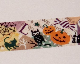 Washi Tape Sample -Cute Kawaii Halloween