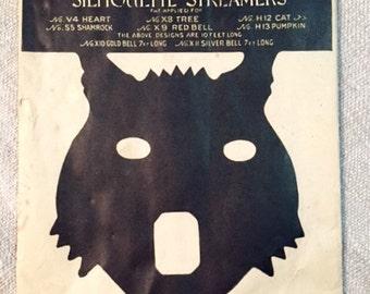 Dennison Black Cat Streamer