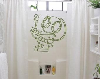 funny bathroom wall decal  etsy, Home decor