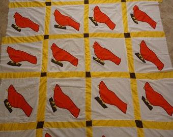 Bird quilt | Etsy : bird quilt - Adamdwight.com