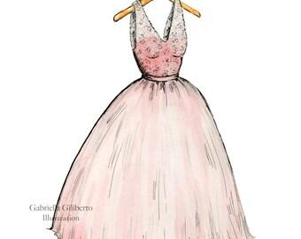 Custom Dress Illustration