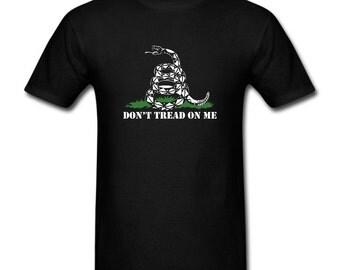 Men's T-shirt Don't Tread On Me Snake
