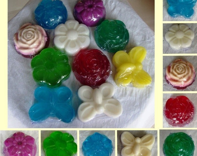Handmade Glycerin Soap, Trial Offer Sample, One Luxury Scented Soap, Glycerin Soap, Ideal for home, Gift for friends, Floral- Butterfly soap