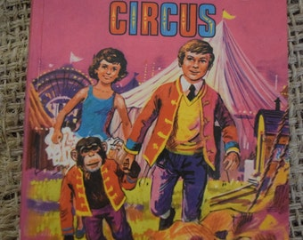 Mr Galliano's Circus. Enid Blyton. Dean and Son. A Vintage Hardback Book. 1972