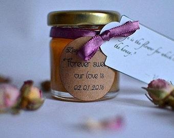 Honey Jar Wedding Favour x50