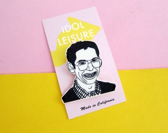 Bill Haverchuck Pin / Freaks and Geeks / Stocking Stuffer