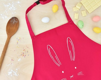 Easter bunny etsy childrens easter bunny apron easter gift easter gift for kids easter gifts for negle Images