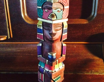Central American Carved Statue