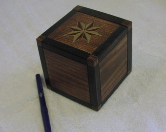 Sliding Tile Puzzle / Treasure Box