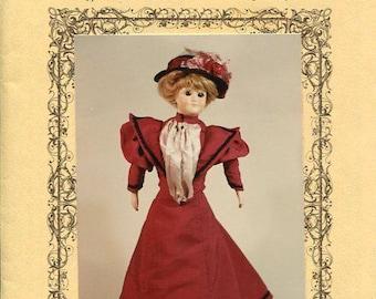 FREE US SHIP Bird's Nest Doll Fashions Earlleen 17 18 inch Lady Doll  Dress New Uncut Sewing Pattern Craft