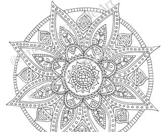 Printable Colouring Page 5