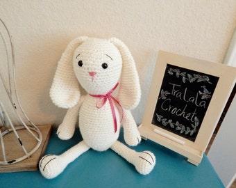 Floppy Ear Crochet Bunny- Classic Bunny