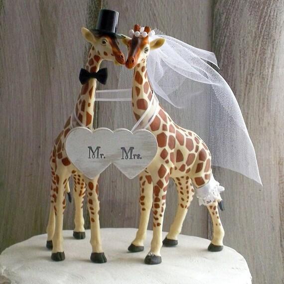 Giraffe Wedding Cake Topper Giraffe Cake Topper Giraffe