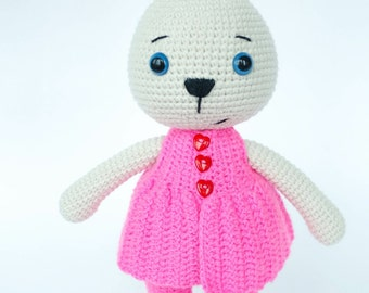 "PATTERN ""Bunny Mammy"" (Crochet amigurumi)"