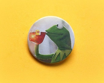 But Thats None Of My Business   - pinback button or magnet 1.5 Inch