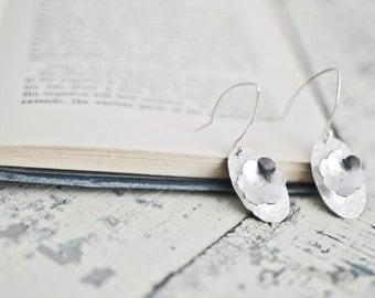 Sterling silver Earrings | Sterling Flower Earrings | Sterling Flower | Everyday Jewelry | Mom Gift | Birthday Gift