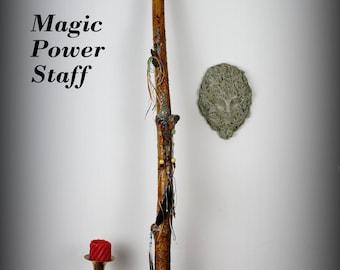 Magic sculpture, Power staff, magic staff, witches staff....