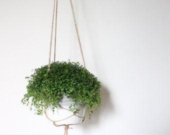Hanging Planter - Brown