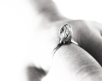 Unique Silver Ring, Silver Wire Ring, Simple Ring, Unique Ring, Statement Ring, Wire Ring, Art Ring, Handcrafted Ring, Art Jewelry, J Lim