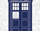 Dr Who Tardis FRIDGE MAGNET