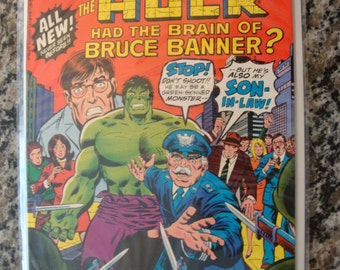 What If - Hulk had the Brain of Bruce Banner  Issue 2 1977 superhero comic