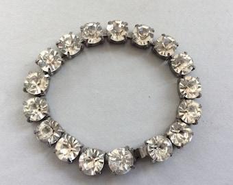 Large Rhinestone Bracelet