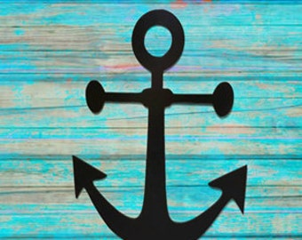 Anchor Wall Art - Metal Anchor Wall Hanging