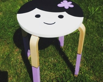 Purple Stool