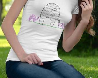 Elephants T-shirts,Ohana t-shirts, family shirts, hawaiian t-shirts, elephants, animal shirts,kids shirts.zoo animals