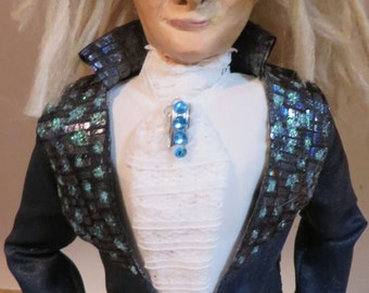 David Bowie in Labrinth OOak art doll