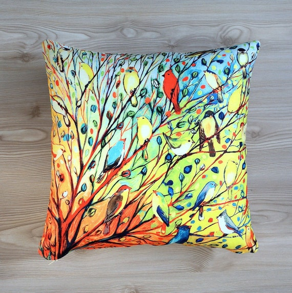 Decorative Living Room Pillow Covers : Items similar to Decorative pillow, Living room pillow, pillow cover, pillow case, zippered ...
