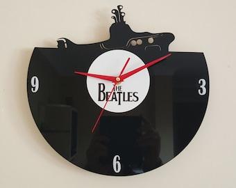 The Beatles Yellow Submarine Clock