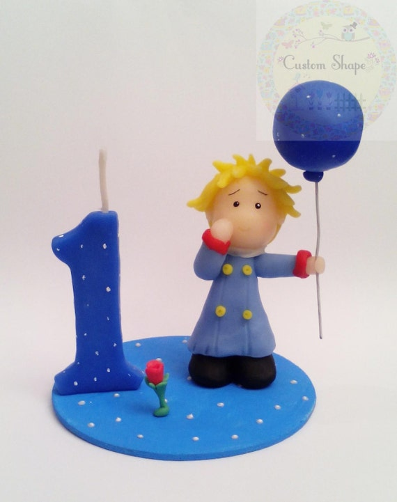 Birthday Candle / Cake Topper personalized handmade by CustomShape