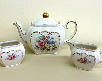 1950's Sadler England Tea Set
