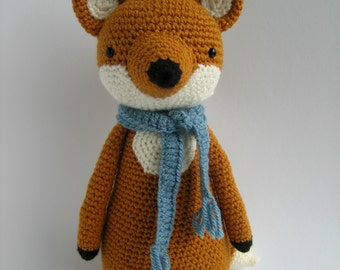 Crochet Amigurumi Pattern - Fox