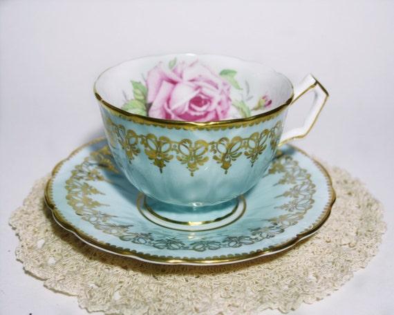 Vintage Aynsley Tea Cup Crocus Shape