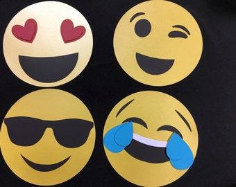 Emoji Centerpiece Sticks 10 inch