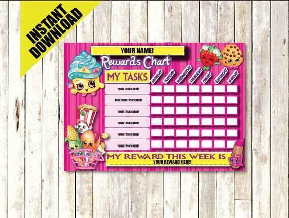 Shopkins Printable Calendar | Calendar Template 2016