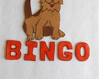 BINGO felt board story set