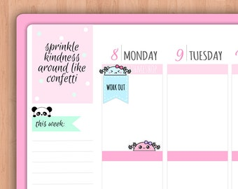 Workout PLANNER STICKERS (SWM39)
