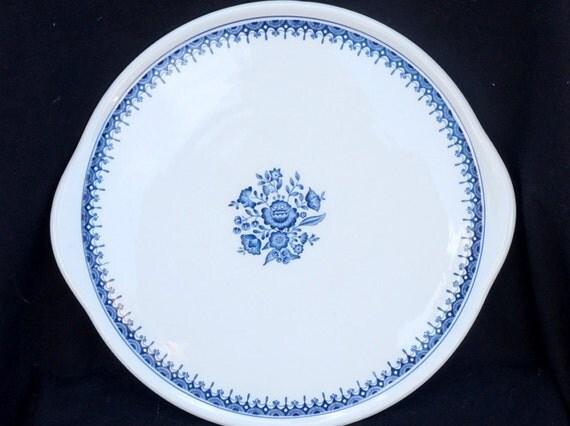 kuchenplatte vintage : Vintage Dutch porcelain Royal Sphinx Maastricht cake platter ...