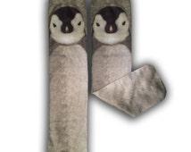 Penguin Cool Animal Socks Gift Kids Birthday Novelty Socks
