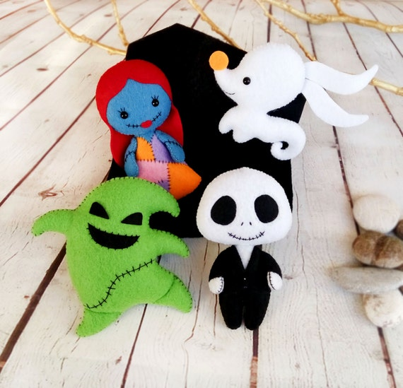 Nightmare before christmas decor halloween ornaments jack - Jack skellington decorations halloween ...