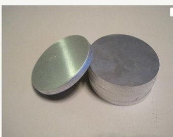 "1"" Stainless Steel Disc, 1/8"" thick, 1"" diameter"