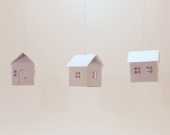 my sweet home - DIY Paper Houses