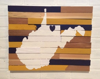 College Wall Hanging - West Virginia University