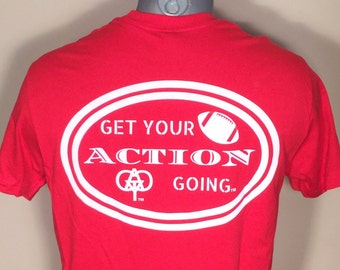 Get Your Action Going!  Redl Football Tee Shirt