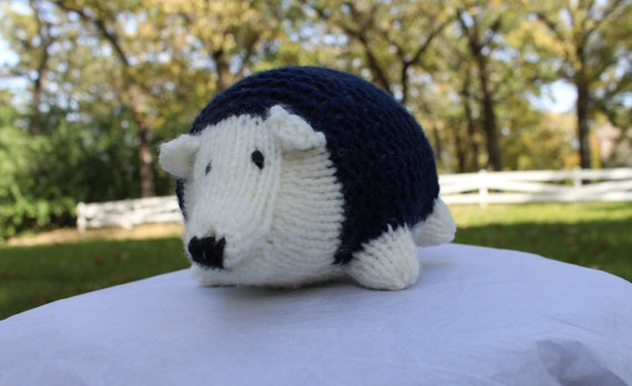 Stuffed Hedgehog Knitting Pattern : Knit Stuffed Hedgehog