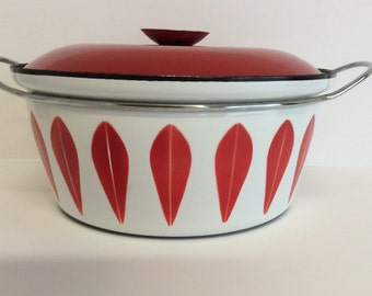 Red Cathrineholm Large Dutch Oven