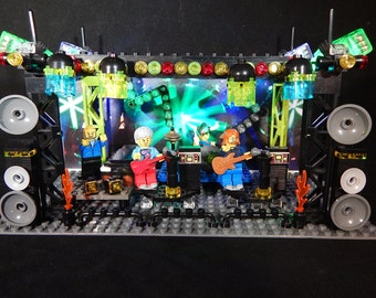 Phish LEGO STAGE Gift - Check it out!  This is NOT a Phish Pin Phish Poster Phish Shirt check out our Trey Page Mike Fishman Grateful Dead